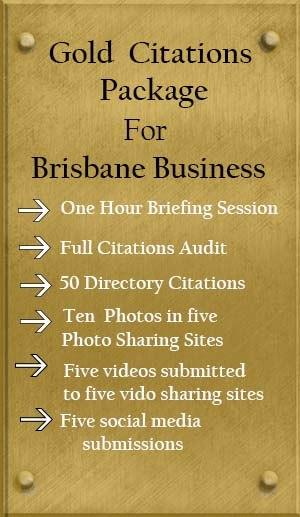 Brisbane SEO Citations Gold Package